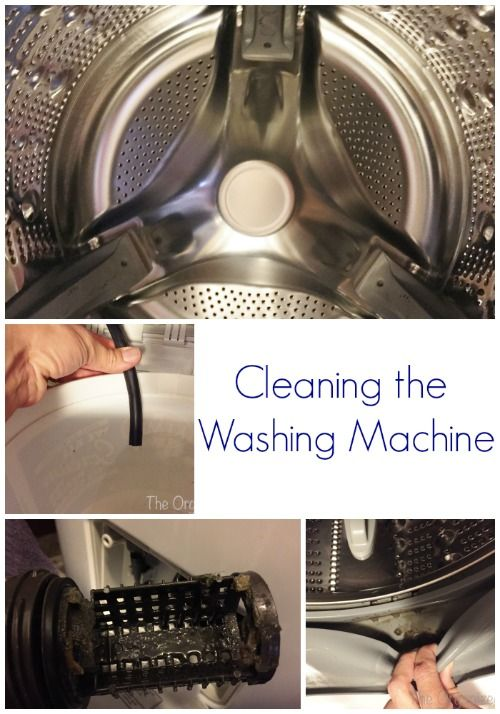 Cleaning Tip Tuesday: Cleaning the Washing Machine - Lemons, Lavender, & Laundry