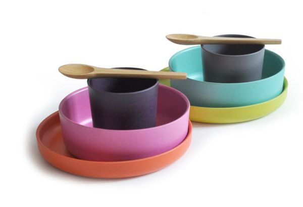 BIOBU by EKOBO: Eco-chic Kid's Dishware