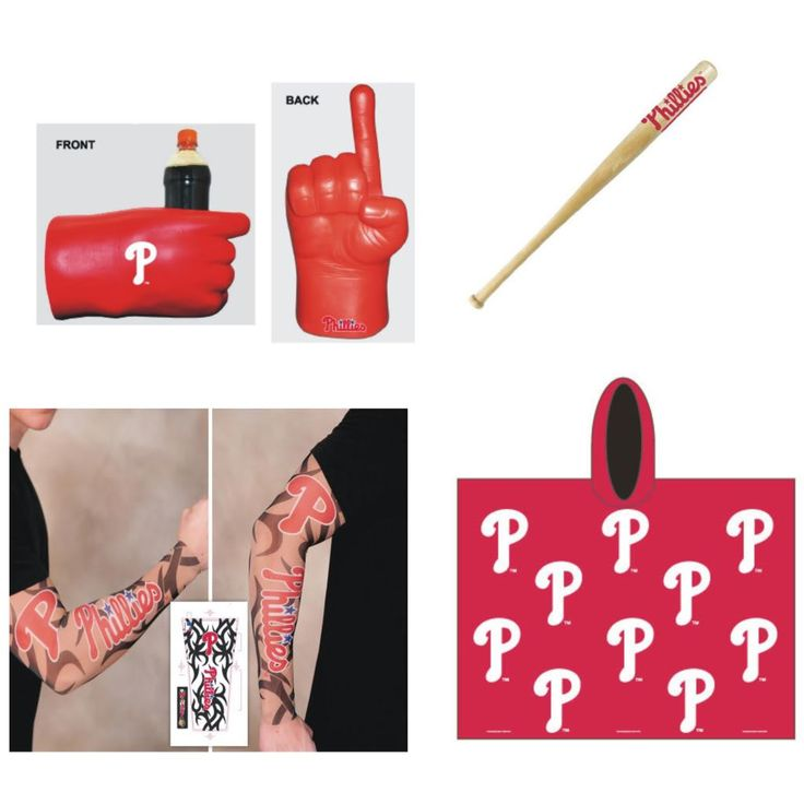 Philadelphia Phillies MLB Gameday Fanpack, Durable