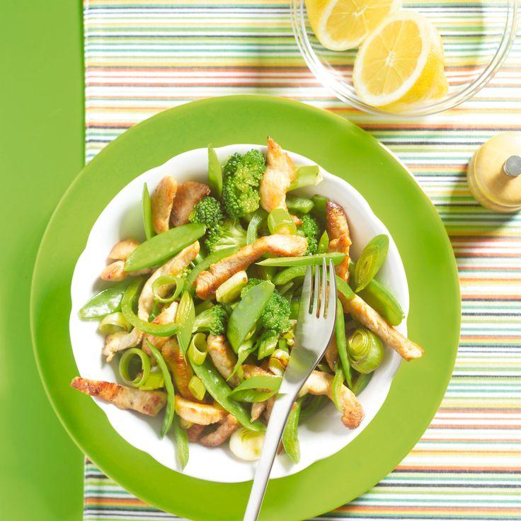 Kalkoen met groene groentes - Boodschappen