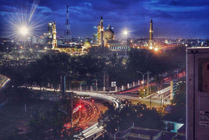 Keindahan dan keramaian kota