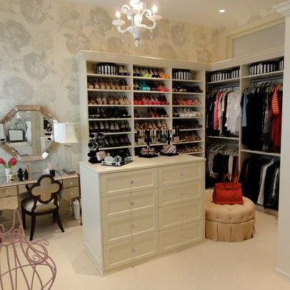 Traditional Home Dressing Room Design Ideas, Pictures, Remodel, And Decor    Page 3