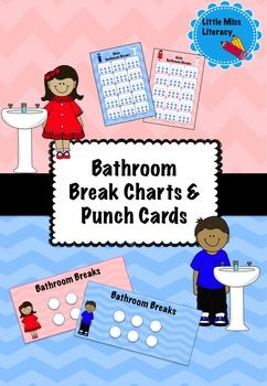 Premium Bathroom Breaks Charts