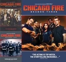 Chicago Fire Seasons 1-3 DVD