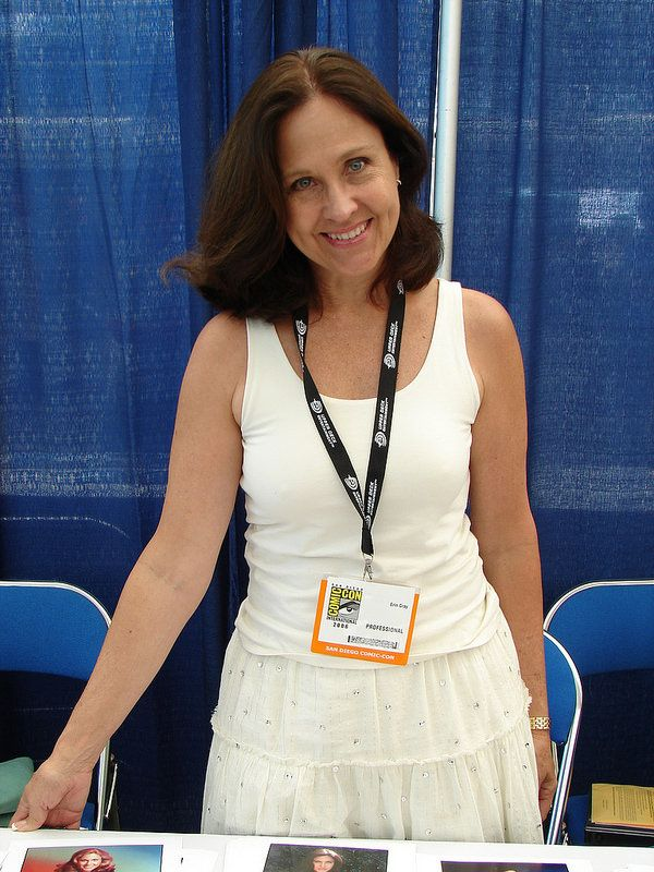 """Erin Gray, """"Wilma"""" from TV's """"Buck Rogers in the 25th Century""""..."""