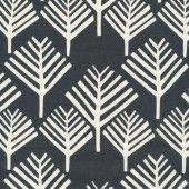 Laminate cotton - coniferous black