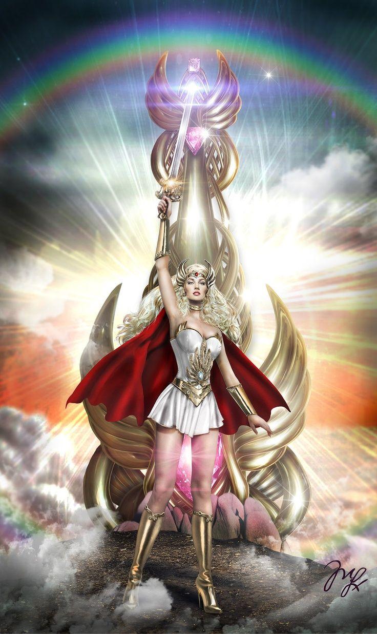 freeandshonenspirit:  Source: - http://ift.tt/1JBPKpbOriginal Caption: She-ra, La princesa del Poder by ~MLauNeim on deviantARTLink: http://ift.tt/1EkT0hs You like Anime, Video Games, Comics, Mangas, etc? Visit my blog!: http://ift.tt/1ajGjwN