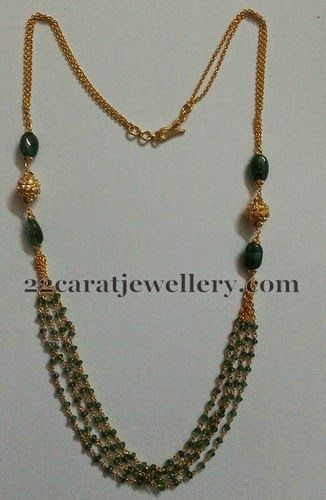 Colorful Beads Kids Jewellery   Jewellery Designs