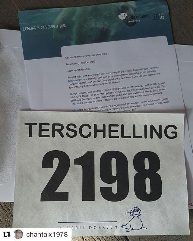 #Repost @chantalx1978 with @repostapp  21 km ga ik echt echt niet halen helaas.  Startbewijs halve marathon Terschelling aangeboden.  #berenloop #berenloopterschelling #startbewijshulp #startbewijsaangeboden #hardlopen #halvemarathon #running #instarunning #berenloop2016 #berenlopers
