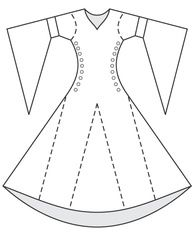 Free Medieval Sewing Patterns | Renaissance Sewing Patterns