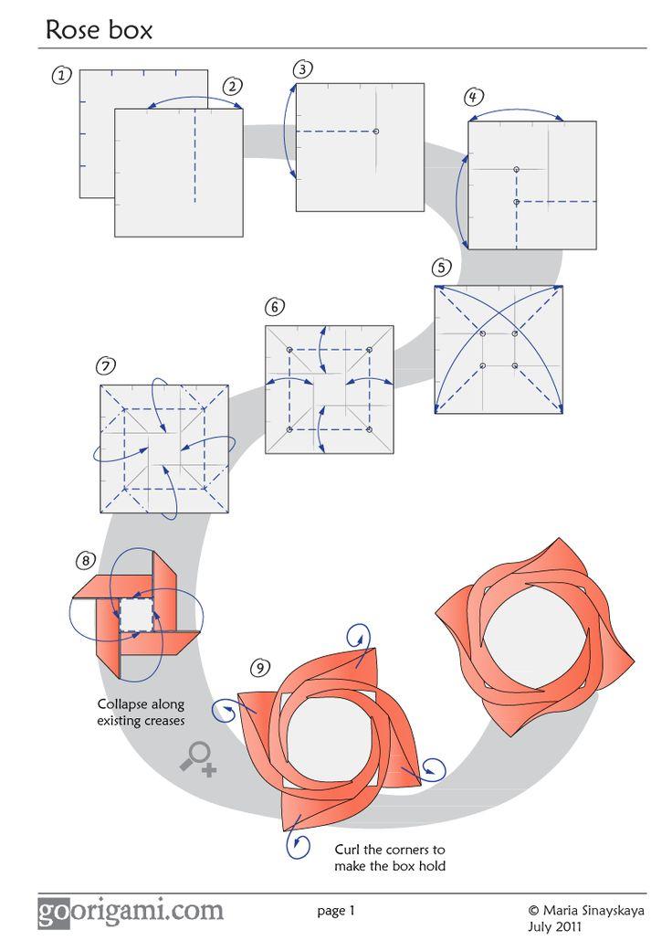 Forminha de docinho | Rosa de Origami ~ Arte De Fazer | Decoração e Artesanato
