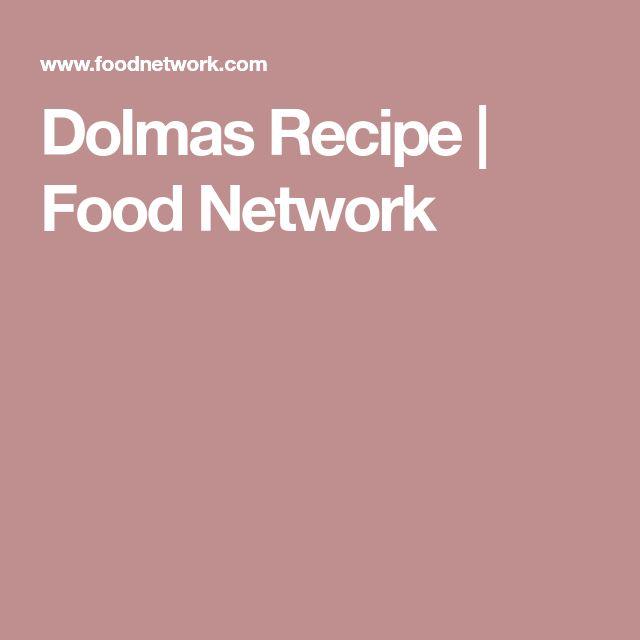 Dolmas Recipe | Food Network