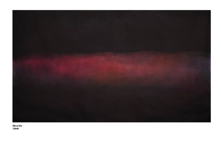 Matthew Mattia Rossi, Adjoin (2013); olio su tela 150x90x5