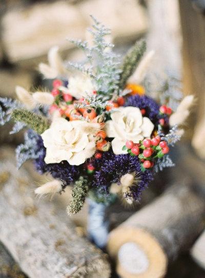 The Brides Bouquet.