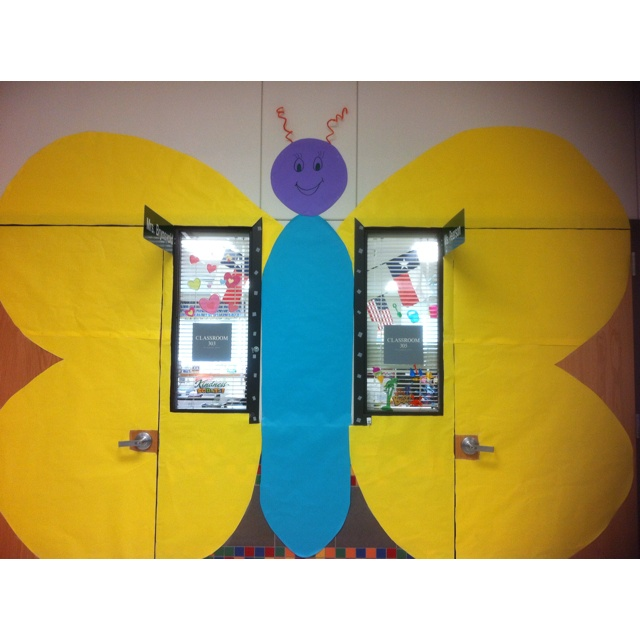 Butterfly Classroom Door Decorations ~ Best images about classroom doors on pinterest boom