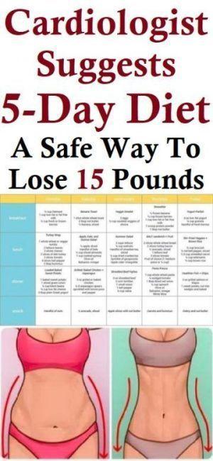 Kardiologe empfiehlt 5-Tage-Diät: Ein sicherer Weg, um 15 Pfund zu verlieren – …