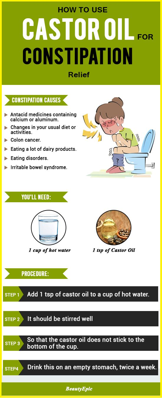 4 Effective Ways to Use Castor Oil for Constipation Relief