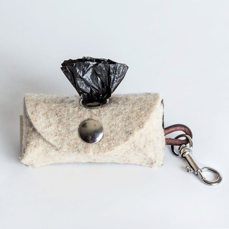 Doggy-Do-Bag ~ Felt doggy bag holder ~ Adds a classic looks to your dog walking gear | Cloud7