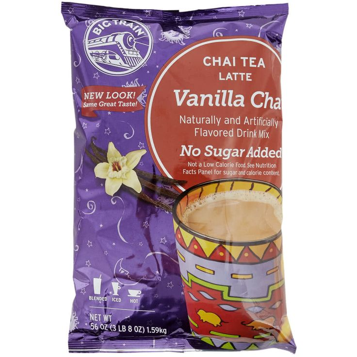 Indulge your customers in the soothing, warming effect of chai with this Big Train no sugar added vanilla chai tea latte mix! With a name symbolizing strength and constant motion, Big Train has expanded into a global foodservice brand you can trust with a large number of diverse products to choose from. Big Train has become a leader in the specialty beverage mix industry, delivering easy-to-make and consistently-delicious products. <br><br> Increasingly popular beverages, chai lat...