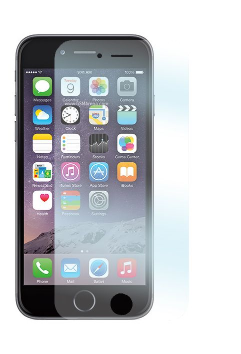 Två stycken skyddsfilmer för Apple iPhone 6 mobiltelefoner.  http://se.innocover.com/product/437/apple-iphone-6-skarmskydd-2-pack