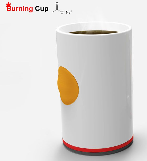 Burning Cup Concept by Ryan Jongwoo Choi