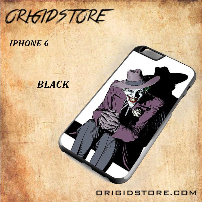 Smiling Joker DC Comic For Iphone 6 Snap On and 3D Case