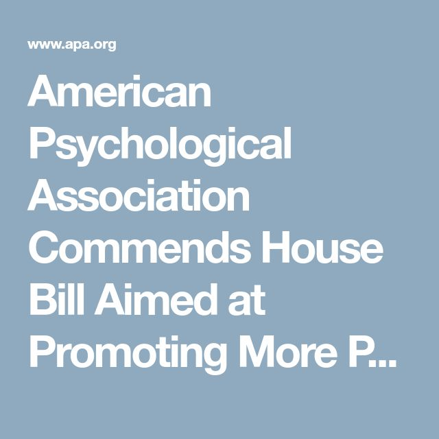 The  Best American Psychological Association Ideas On