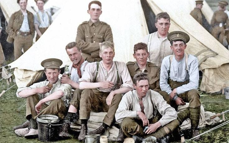 WW1 - so young