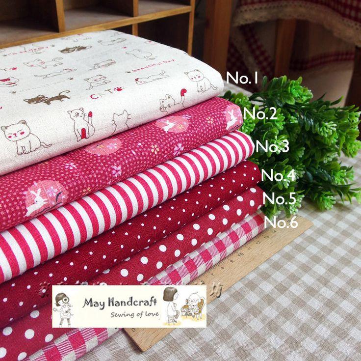 Белье хлопчатобумажная ткань, 50 * 35 см / шт,  рыжий кот  винтаж белье хлопчатобумажной ткани для пэчворка, Швейные, Скатерть, Диван крышка, Подушки, Ткани