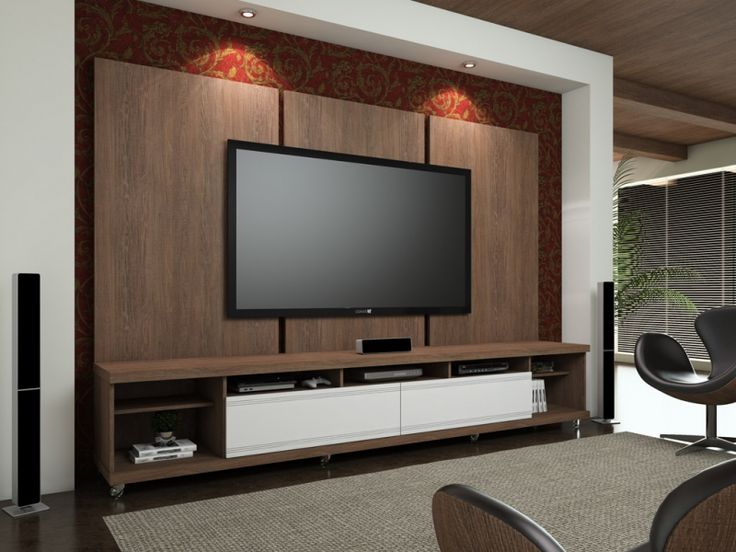 86 Best Images About Home Theater Tv Room Sala De Tv On Pinterest Madeira Entertainment