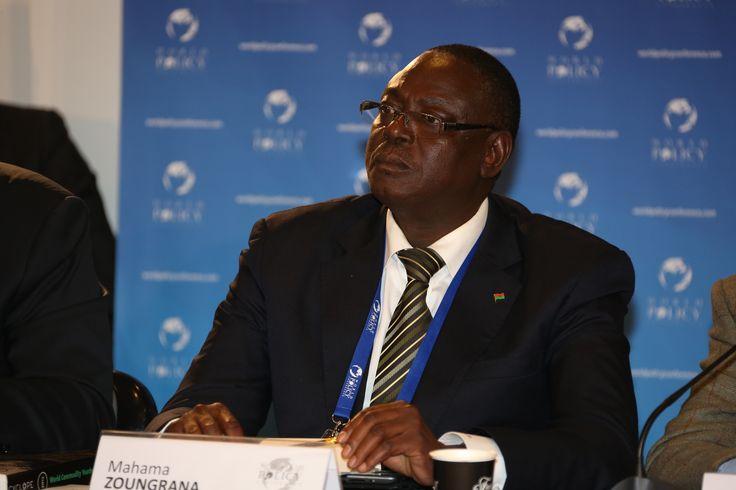 WPC 2013, Monaco - Mahama Zoungrana, Minister of Agriculture and Food Security of Burkina Faso