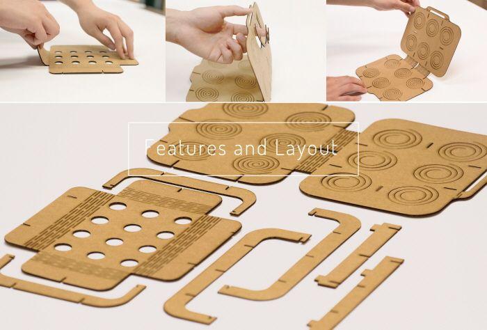 Mattress for eggs by Sichen Sun at Coroflot.com