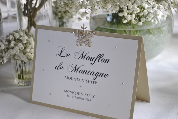 Missouri Table Names in Soft Gold and Cream