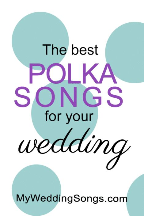 25 Best Polka Songs for Weddings, 2017