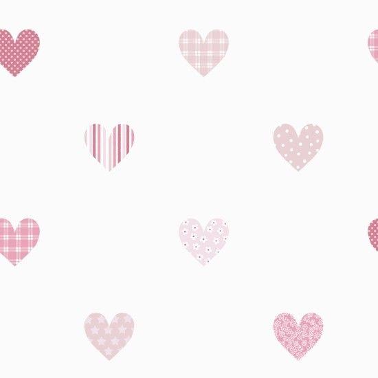 Lilleby Kids Hearts 2675 bij Behangwebshop