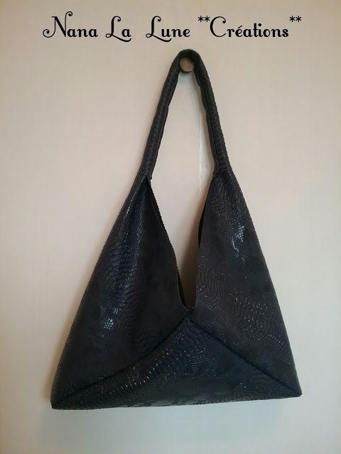 NanaLaLune : Sac triangle