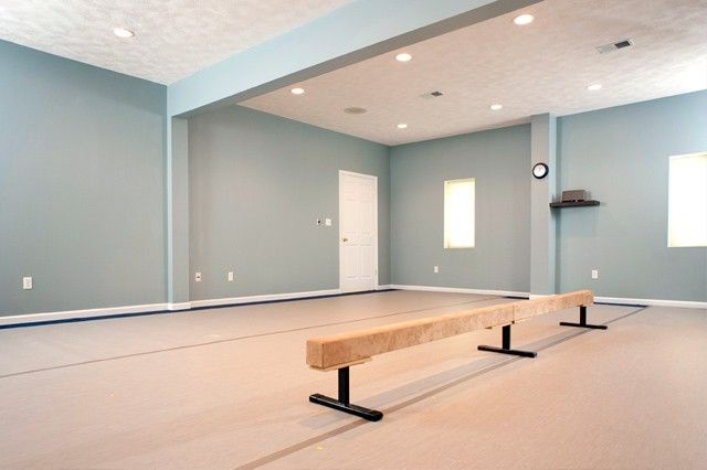 elegant dance studio interior design