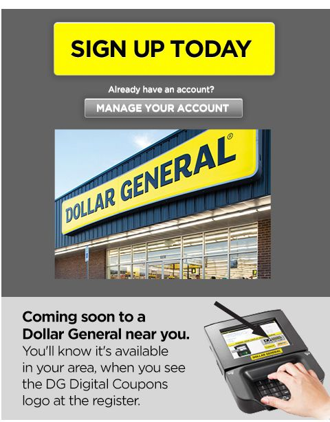 Dollar General Digital Coupons