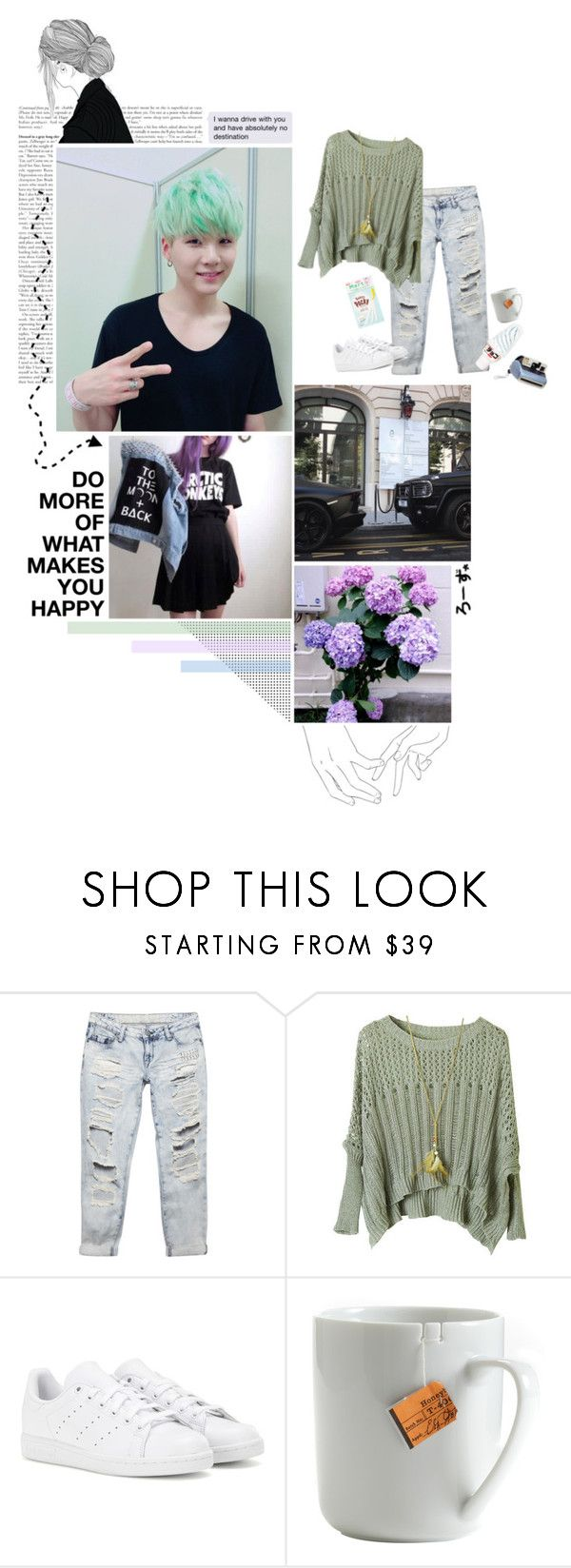 """""""Camouflage~Min Yoongi {Tag}"""" by fantasy-lover-0719 ❤ liked on Polyvore featuring Wet Seal, adidas, Aime, le mouton noir & co., Polaroid and bedroom"""