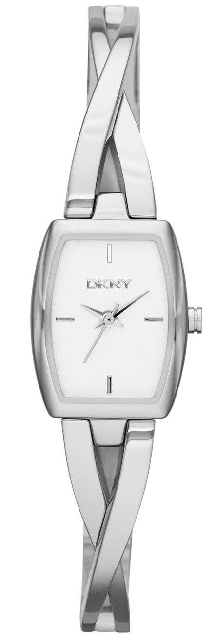 Lille armbåndsur til kvinder i sølvfarve- DKNY Crosswalk NY2234