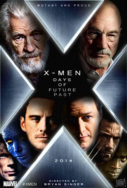 X-Men: Days of Future Past - New Movie Images (2014) - Patrick Stew  X-Men: Days of Future Past - New Movie Images (2014) - Patrick Stewart, Hugh Jackman Movie HD The X-Men must travel in time to change a major historical event that could globally impact on man and mutant kind. Check out these new movie photos from X-Men: Days of Future Past!