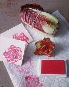 15 idées de tampons pour tissu.