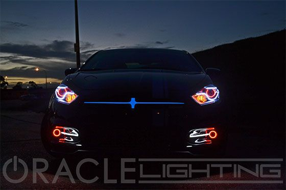 2013+ Dodge Dart ORACLE Illuminated Grill Crosshairs