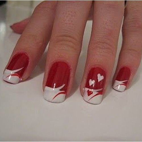 Diy Nail Ideas Doc Martens Nail Art And More Of Our: 1000+ Ideas About Valentine Day Nails On Pinterest