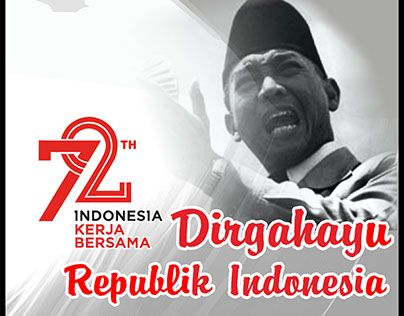 "Check out new work on my @Behance portfolio: ""Poster HUT RI 72 Dirgahayu Kemerdekaan Indonesia"" http://be.net/gallery/55370891/Poster-HUT-RI-72-Dirgahayu-Kemerdekaan-Indonesia"