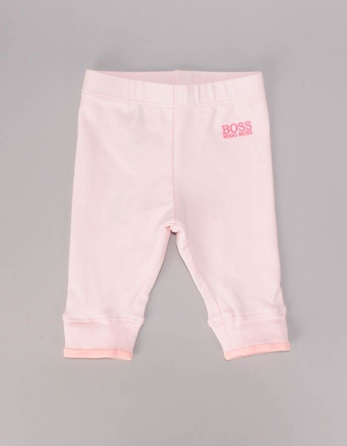 Boss Pink Small Logo Leggings | Accent Clothing