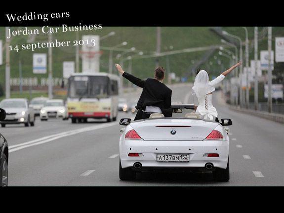 Свадебные автомобили.  wedding cars  BMW 6 Convertible