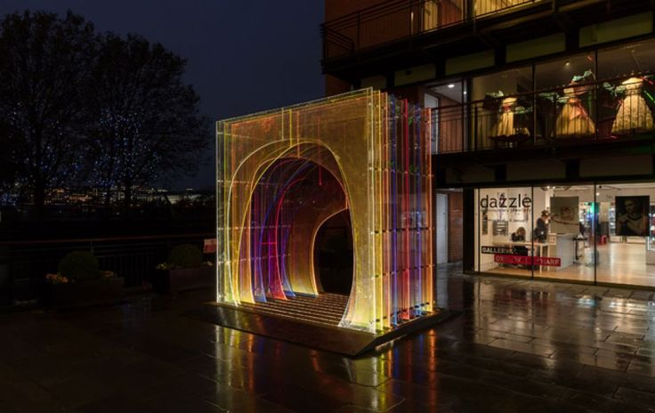 'Mise-en-abyme' at Oxo Tower Wharf