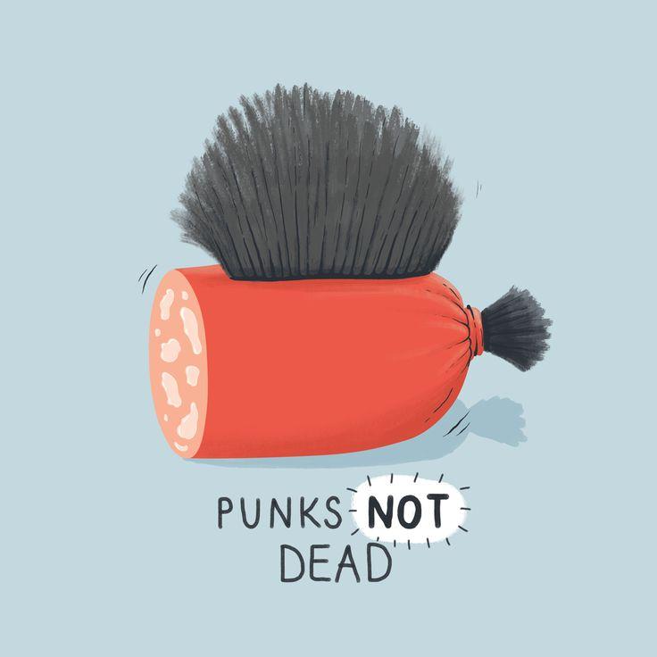 Punks NOT dead by Dolynda