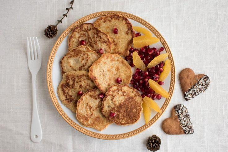 Klatkager af havregrød til morgenmad